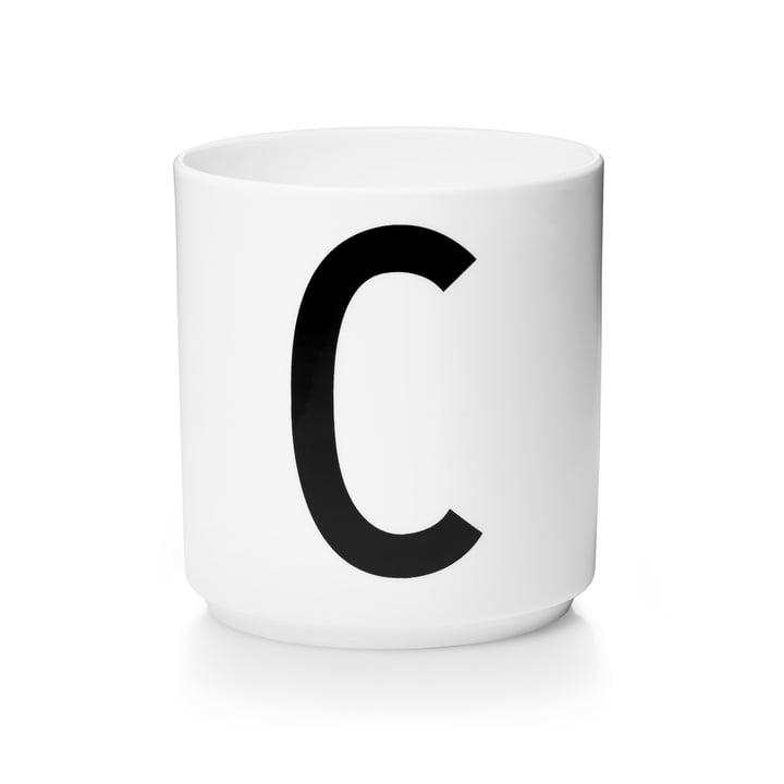 Design Letters – AJ porcelænskop, C