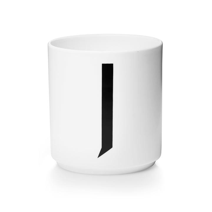 Design Letters – AJ porcelænskop, J
