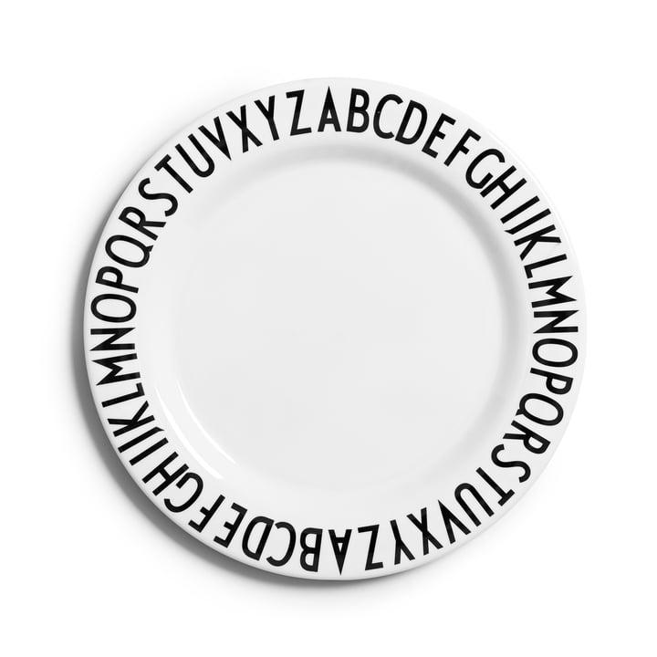 Design Letters – AJ tallerken i melamin, flad