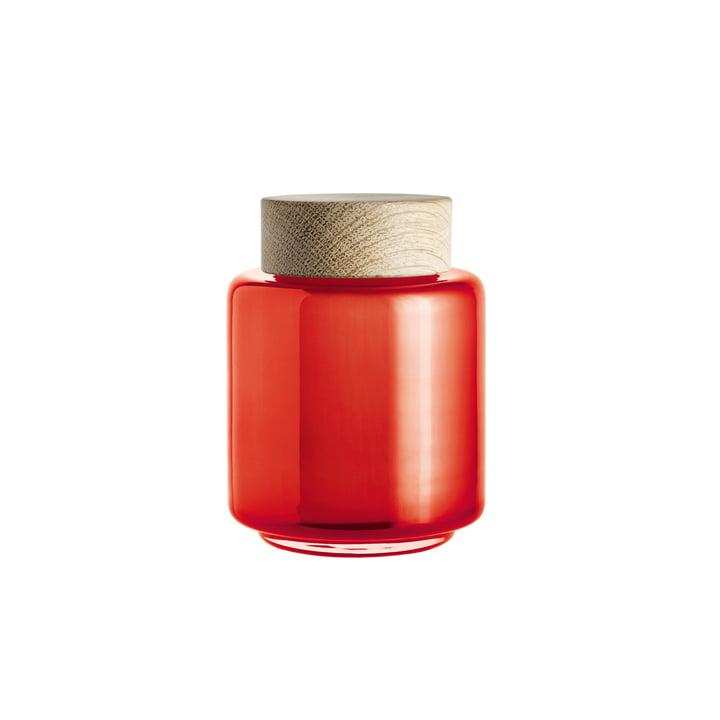 Holmegaard – Palet opbevaringsglas i orange, 0,35 l
