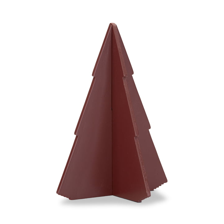 Skagerak – grantræ, 17 cm, rustrød