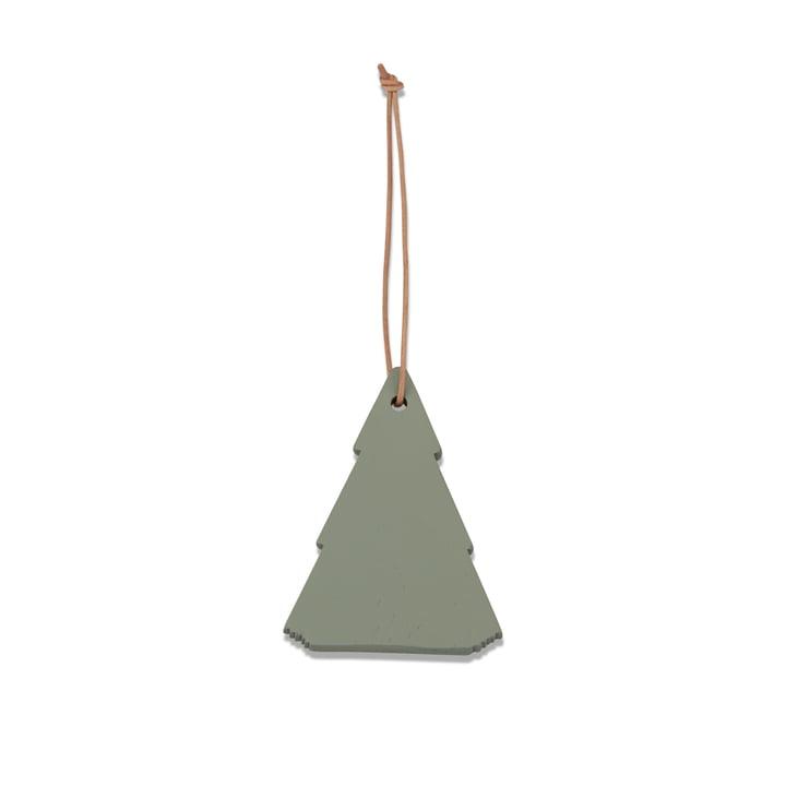 Skagerak – Spruce Tree julepynt, skifergrå