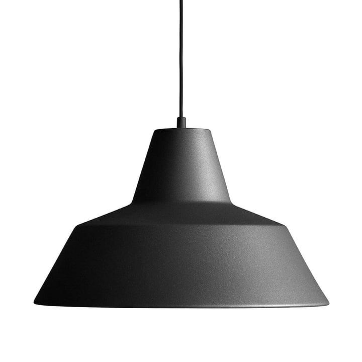 Made by Hand – værkstedslampe W4 i antracitsort