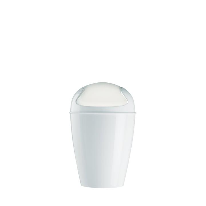 Koziol – DEL S affaldsspand med svinglåg, hvid