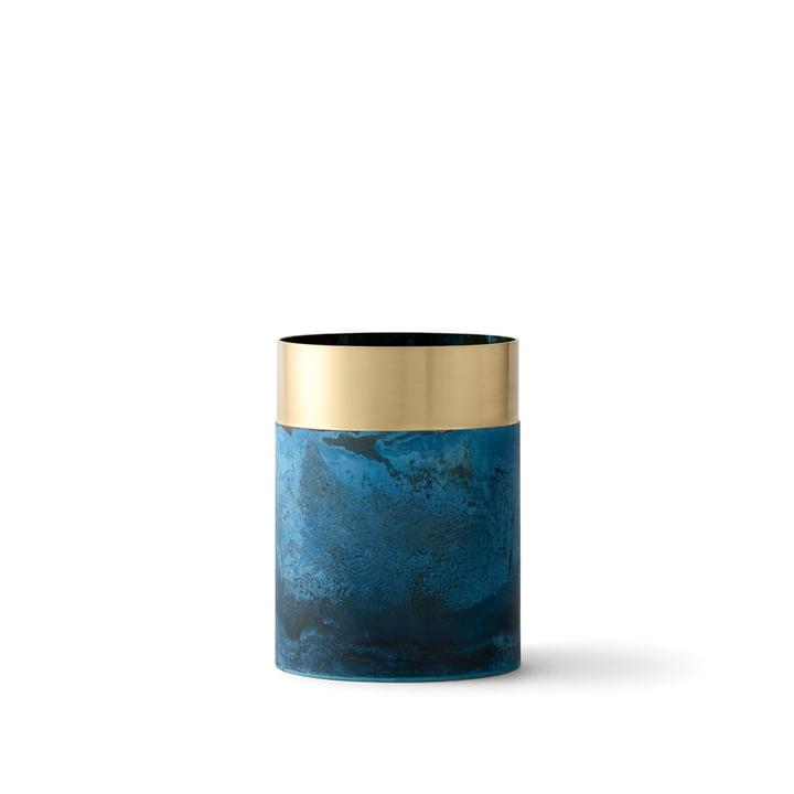 & Tradition - True Color Vase LP5, blå messing