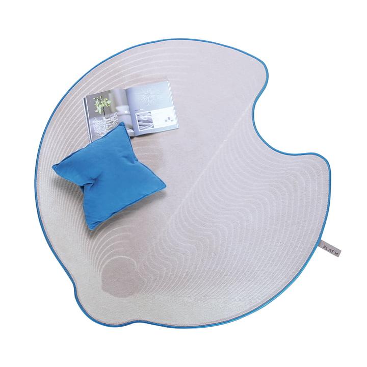 Flat'n – Grooved Circle tæppe 001 (Ø 160 cm)