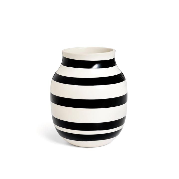 Omaggio Vase H 200 fra Kähler Design i sort