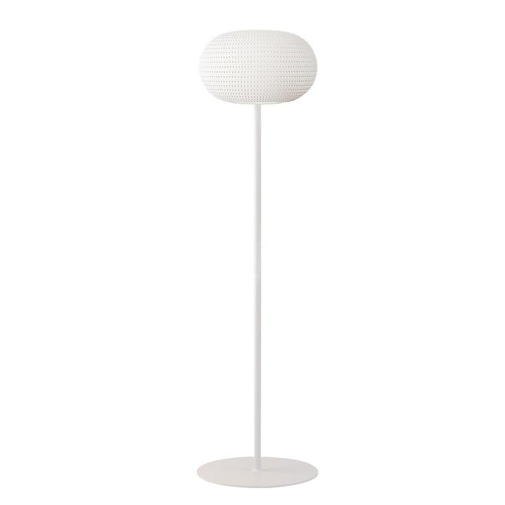 Bianca gulvlampe fra FontanaArte i hvid