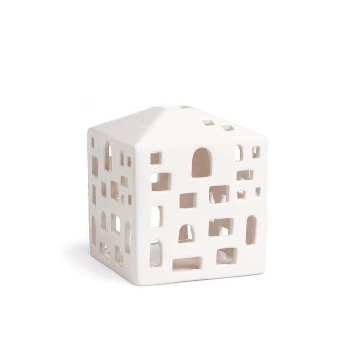 Urbania hus til fyrfadslys, byhus fra Kähler Design