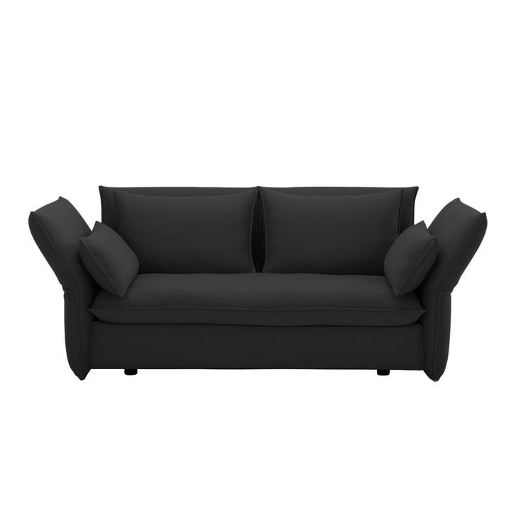 Mariposa 2-personers sofa fra Vitra i mørkegrå Laser