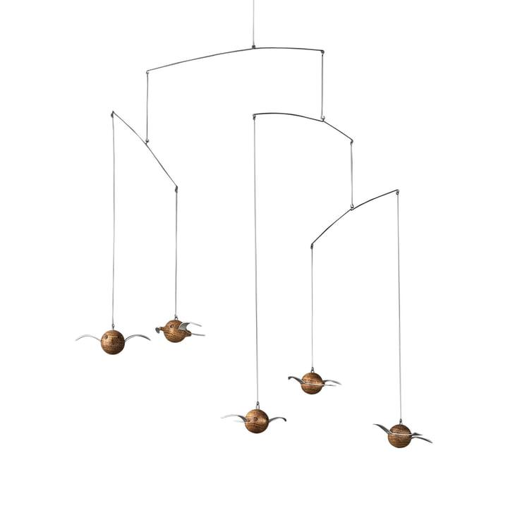 Hoptimist – Woody Birdie Mobile, egetræ
