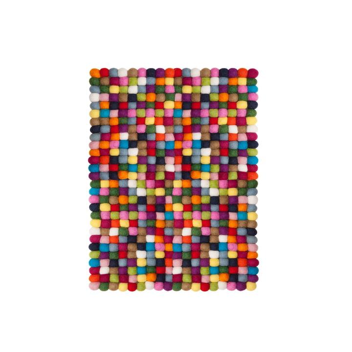 Lotte rektangulært tæppe, 70 x 100 cm, fra myfelt