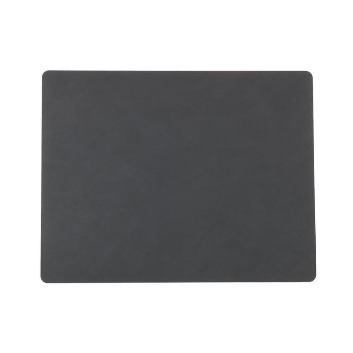 Placemat Square L 35 x 45 cm af LindDNA i antracit Nupo