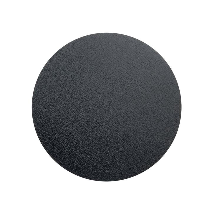 LindDNA – Hot Mat Circle S bordskåner, Ø 24 cm, black bull