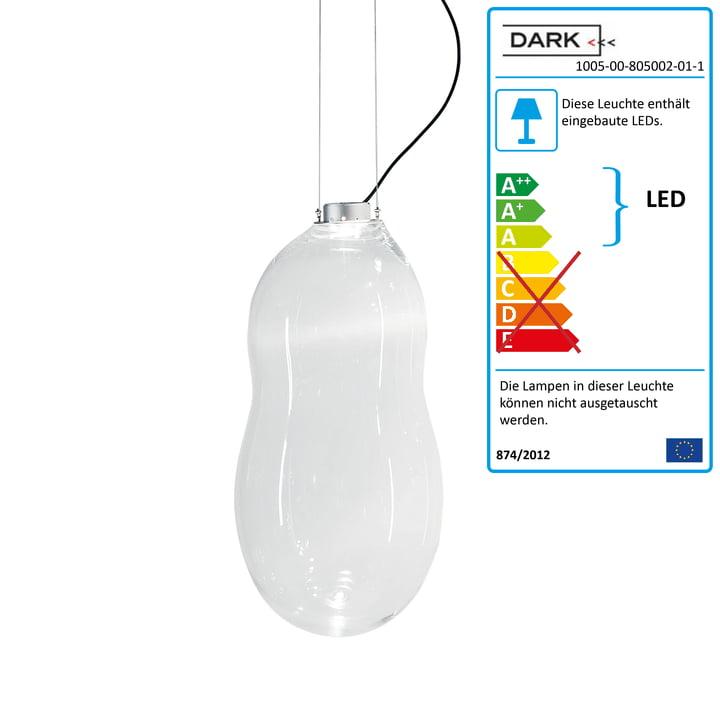 Dark – Baby Bubble pendel, gennemsigtig (ekskl. transformer)