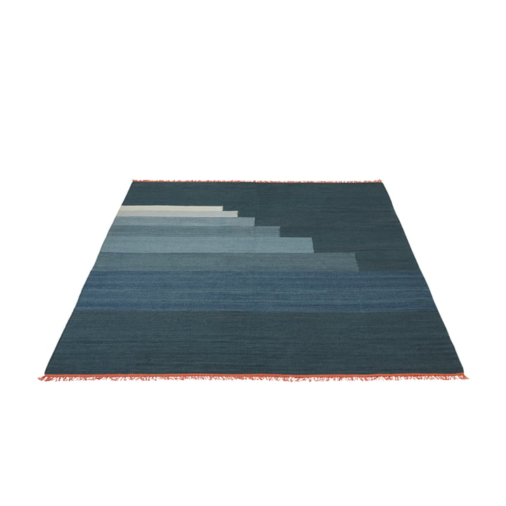 Another Rug AP3 Tӕppe, 170 x 240 cm fra &Tradition i storm blue