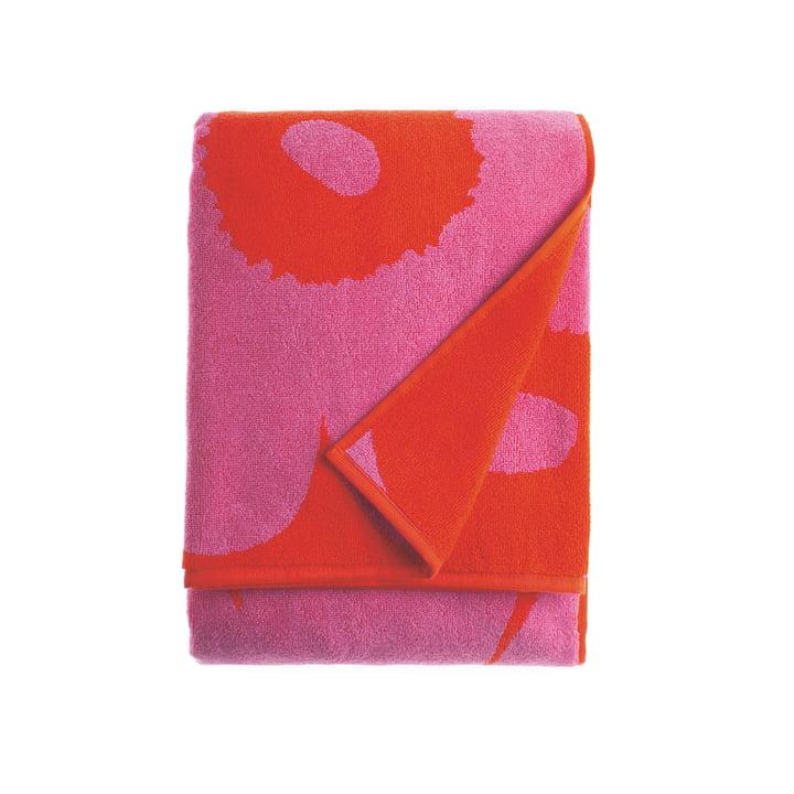 Marimekko – Unikko badehåndklæde, 75 x 150 cm, rød