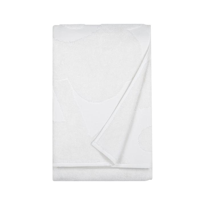 Marimekko – Unikko Solid badehåndklæde, 75 x 150 cm i hvid