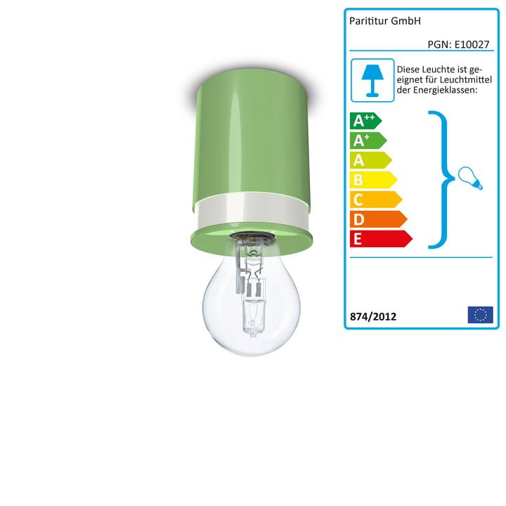 Colours loftslamper fra Twister Lighting i grøn