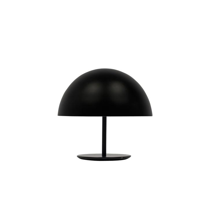Dome bordlampe fra Mater på Ø 25 i sort