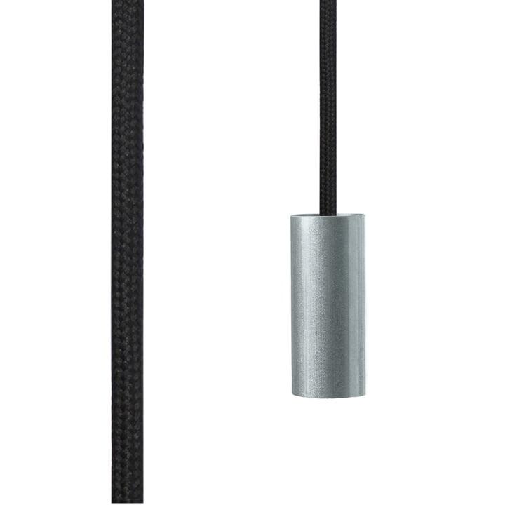 NUD kollektionen – Tube Foil børstet aluminium, Raven (TT-09)