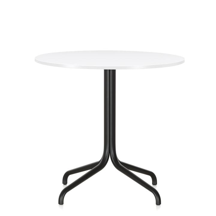 Belleville rundt cafébord, Ø 79,6 cm, fra Vitra i hvid
