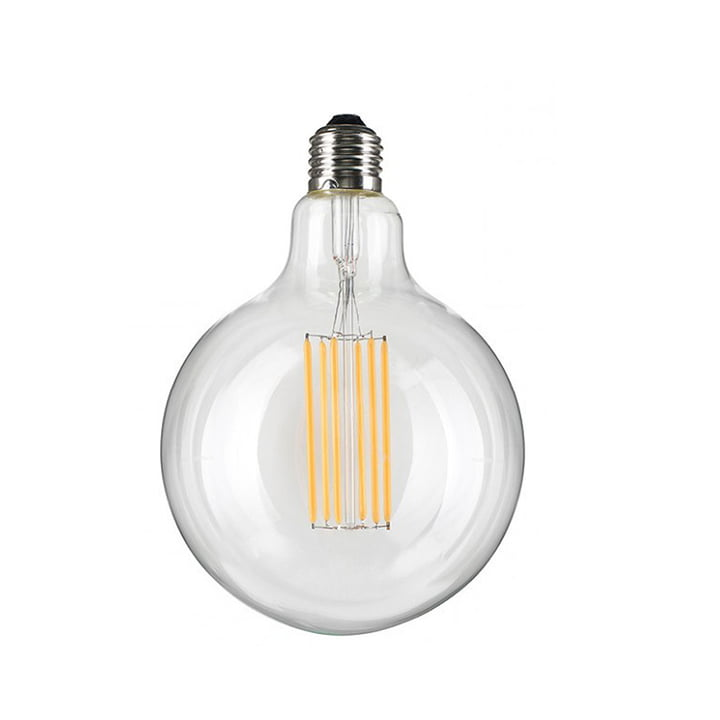 NUD kollektionen – LED-pæren Globe Ø 95 mm, E27, 6 W