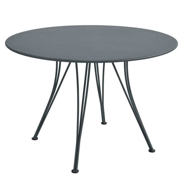 Fermob – Rendez-vous bord, rundt, Ø 110 cm, stormgrå