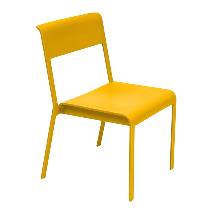 Bellevie stol fra Fermob i honninggul