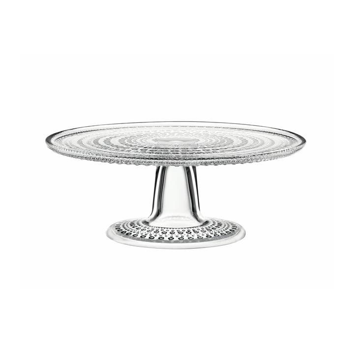 Iittala – Kastehelmi kagefad med fod, 24 cm, transparent