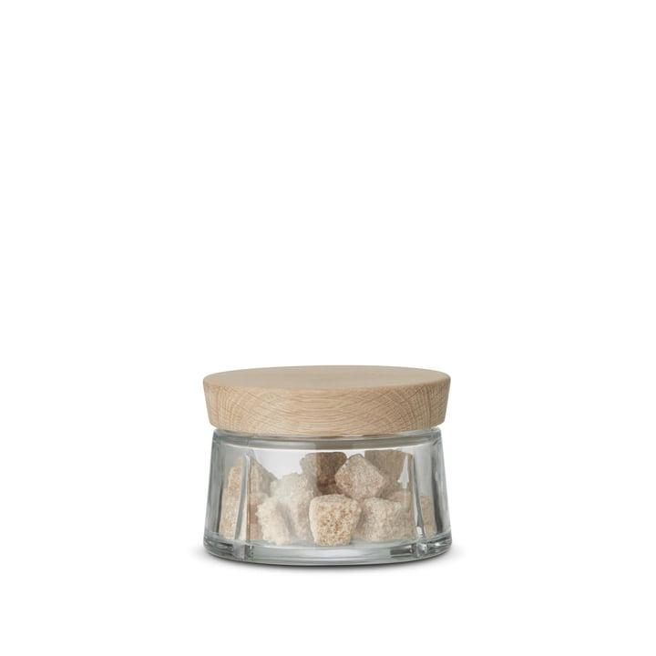 Rosendahl – Grand Cru opbevaringsglas med egetræslåg, 0,25 l