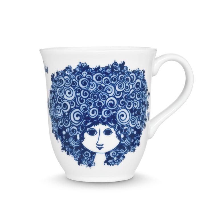 Bjørn Wiinblad – Rosalinde kop, 35 cl, blå