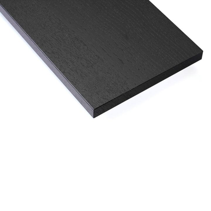 Hylde (pakke med 3) af String i sortbejdset ask