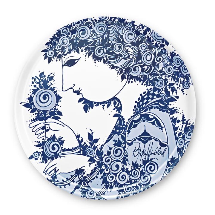 Bjørn Wiinblad – Rosamunde bakke, blå