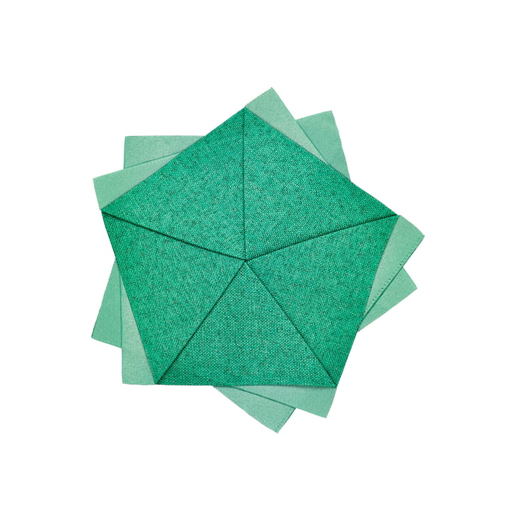 Iittala X Issey Miyake – Table Flower Ø 20 cm, smaragdgrøn