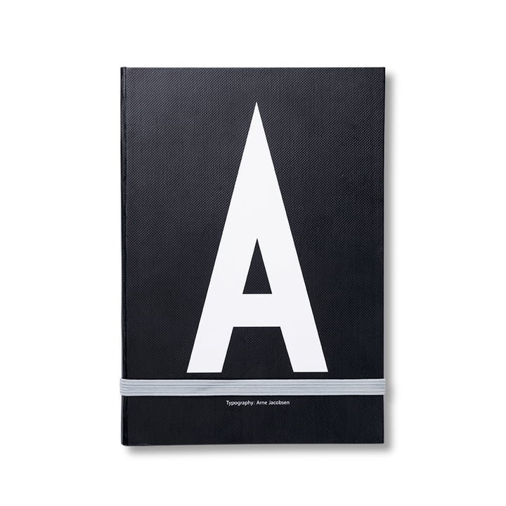 Design Letters – personlig notesbog A-Z, A