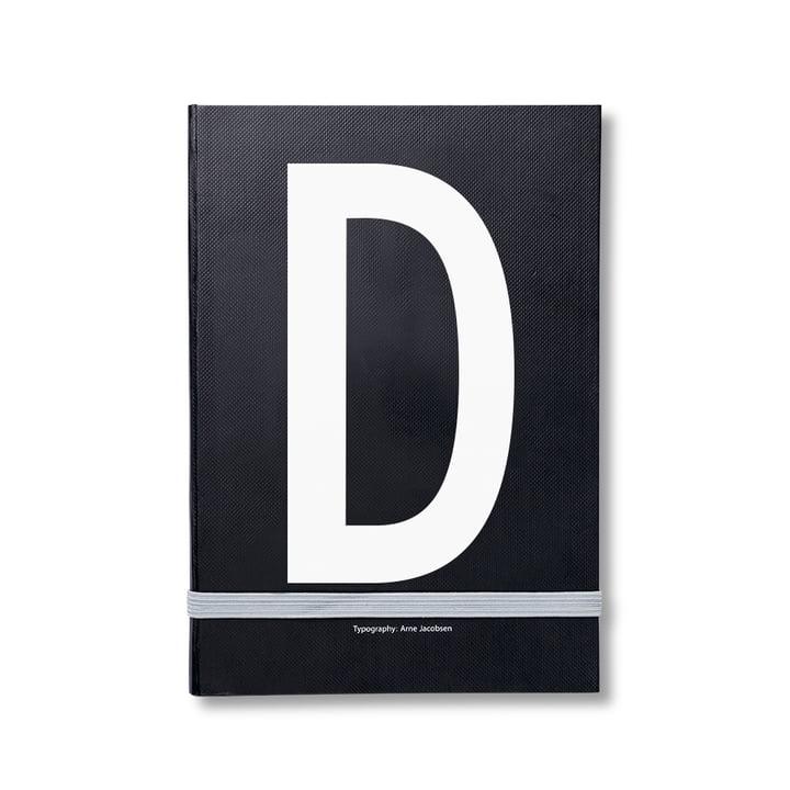 Design Letters – personlig notesbog A-Z, D
