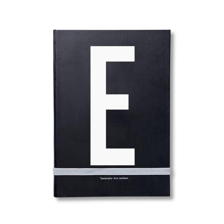 Design Letters – personlig notesbog A-Z, E