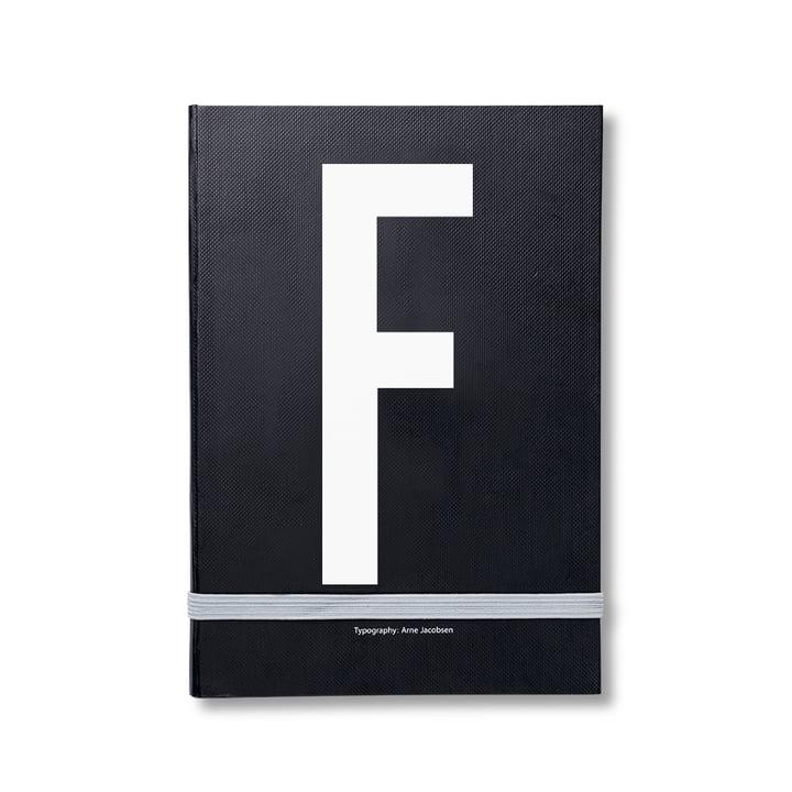 Design Letters – personlig notesbog A-Z, F