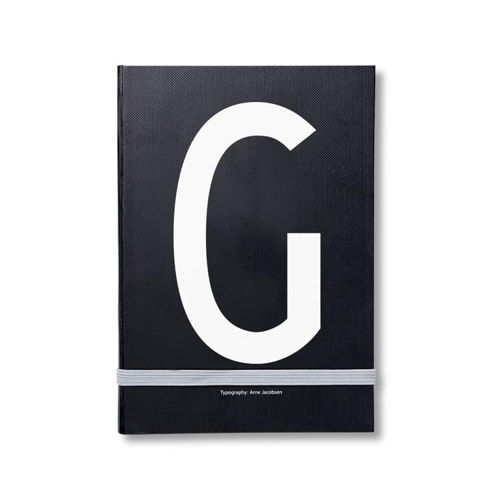 Design Letters – personlig notesbog A-Z, G