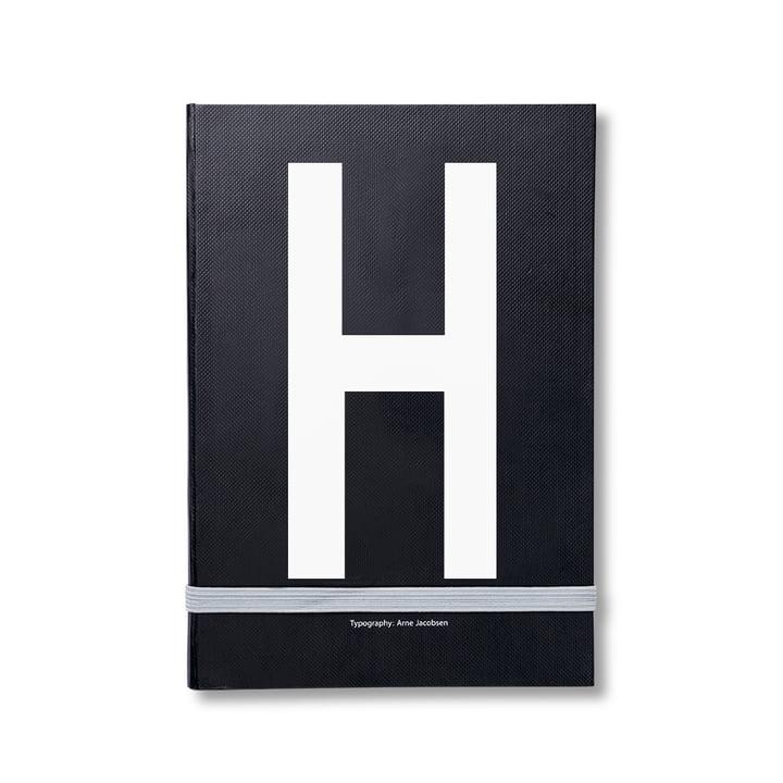 Design Letters – personlig notesbog A-Z, H