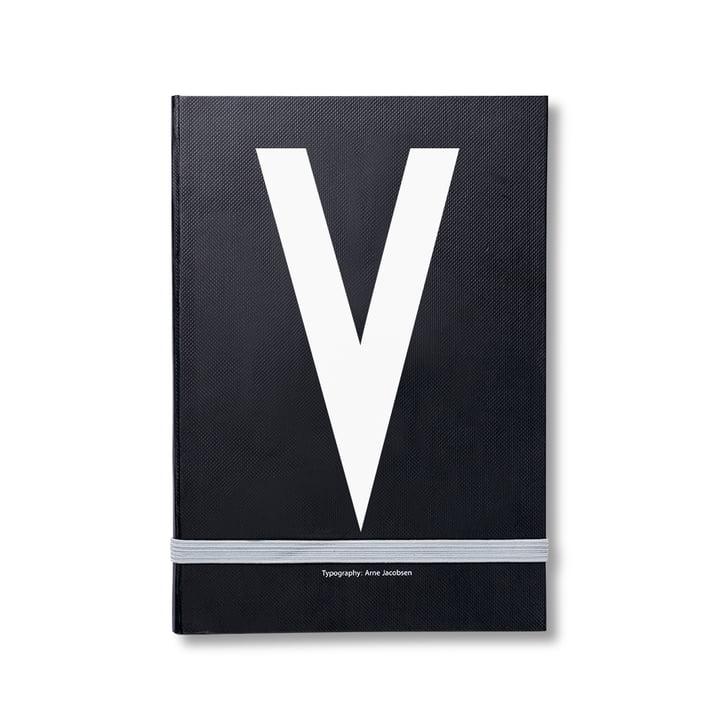 Design Letters – personlig notesbog A-Z, V