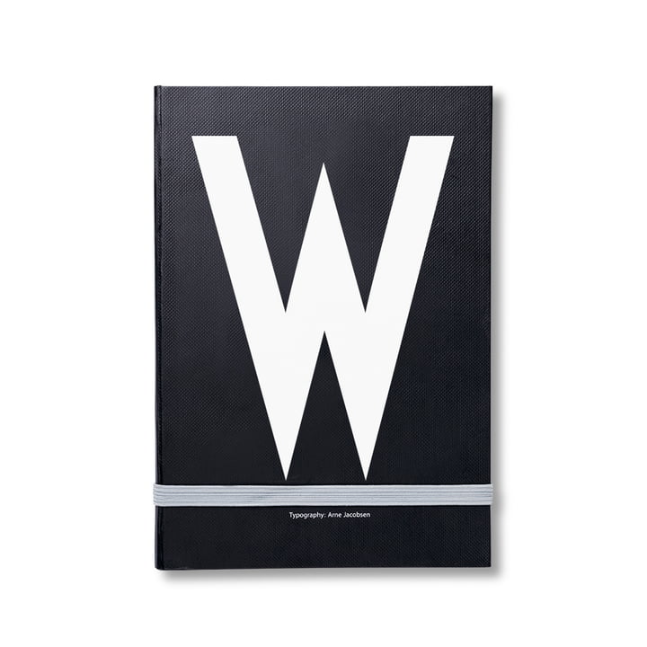Design Letters – personlig notesbog A-Z, W