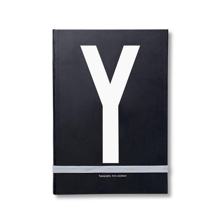 Design Letters – personlig notesbog A-Z, Y
