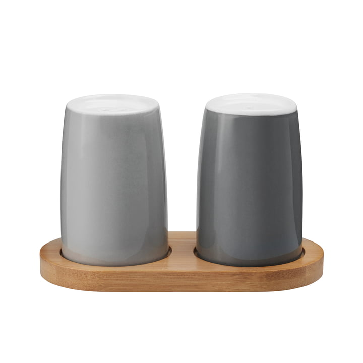 Stelton – Emma salt- og peberbøsse, grå