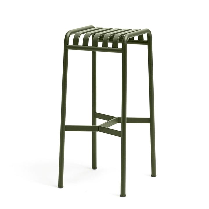 Palissade barstolen fra Hay i olivengrøn