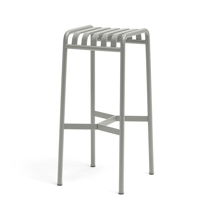 Palissade barstolen fra Hay i lysegrå