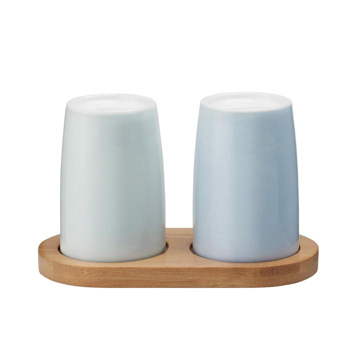 Stelton – Emma salt- og peberbøsse, blå