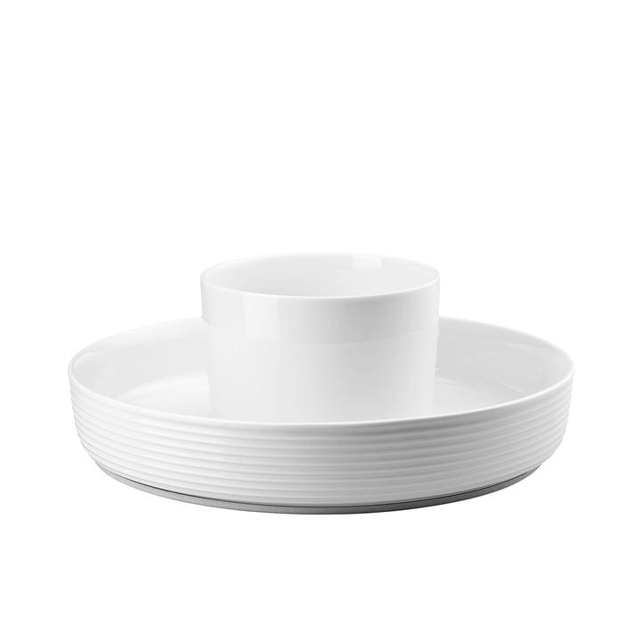 Ono Food Presenter fra Thomas i hvid med en diameter på 33,5 cm