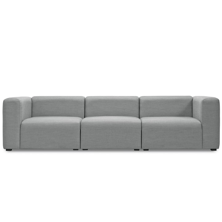 Mags Sofa – 3-personers med Surface 120 betræk i lysegråt